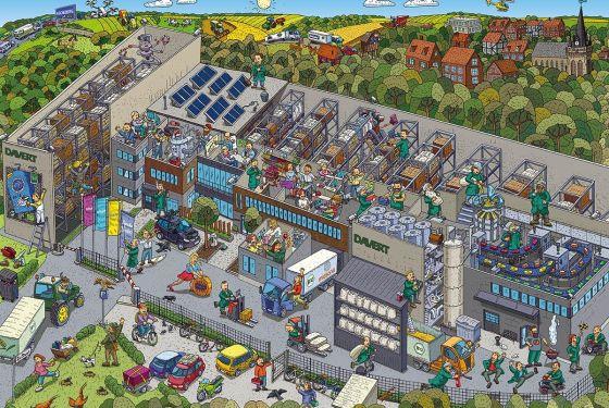 Wimmelbild Davert GmbH